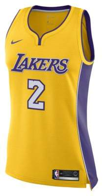 Nike Lonzo Ball Icon Edition Swingman Jersey (Los Angeles Lakers)