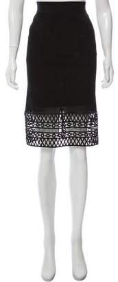 Pinko Knee-Length Pencil Skirt