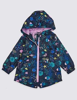 Marks and Spencer Mermaid Print Coat (3 Months - 7 Years)
