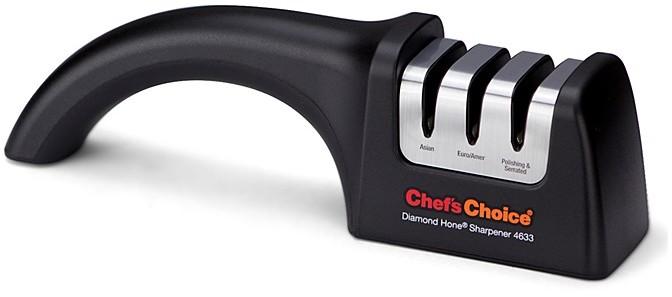 Chef's Choice Chef'sChoice Angle Select Diamond Hone Knife Sharpener, Euro-American/Satoku/Serrated Model 4633