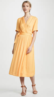 Scotch & Soda Midi Wrap Dress