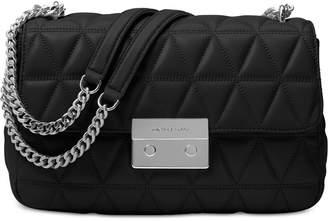 MICHAEL Michael Kors Sloan Large Chain Shoulder Bag $328 thestylecure.com