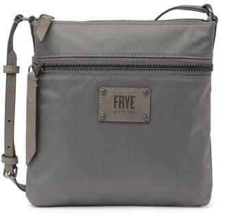 Frye Ivy Nylon Leather Trimmed Crossbody Bag