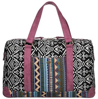 Roxy Wake The World Duffel Bag - Pink $56 thestylecure.com