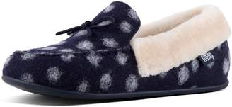 FitFlop Clara Moccasin Wool Slippers