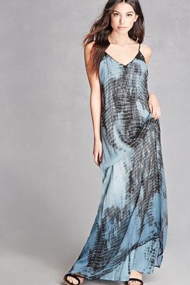 FOREVER 21+ Dip-Dye Maxi Dress $48 thestylecure.com