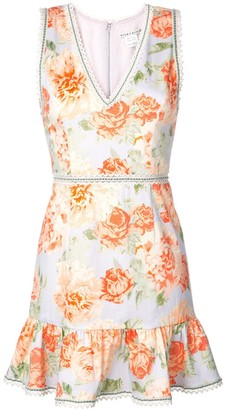Alice + Olivia Alice+Olivia Kirean floral print dress