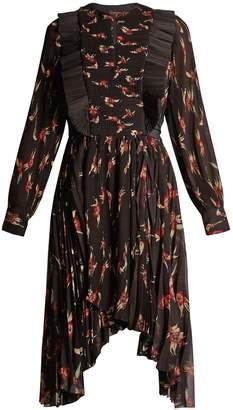 Isabel Marant Wesley floral-print pleated dress