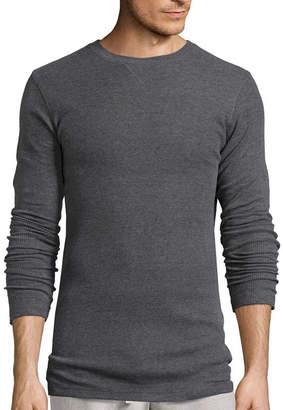 Hanes Textured Thermal Crewneck Sleep Shirt