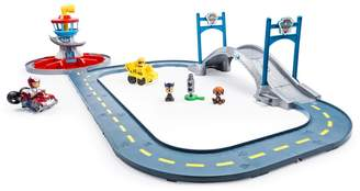 Spin Master Toys Paw Patrol Ryder & Rubble Launch n Roll Lookout Tower Track Set by Spin Master