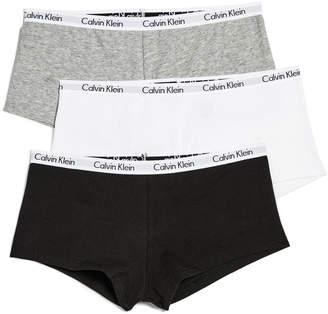 Calvin Klein Underwear Carousel 3 Pack Boyshorts $33 thestylecure.com