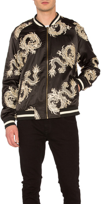 Standard Issue Dragon Bomber Jacket $138 thestylecure.com