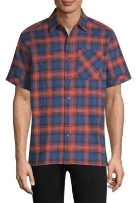 Ovadia & Sons Camp Cotton Button-Down Shirt