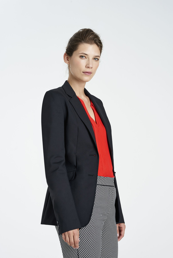 Long Tall Sally Clean Sharp Longline Suit Jacket