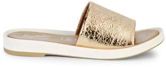 Seychelles So Zen Metallic Leather Slides