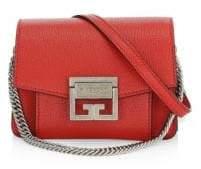 Givenchy Small GV3 Bright Red Shoulder Bag