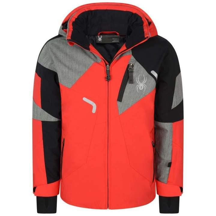 SpyderBoys Red & Black Leader Jacket