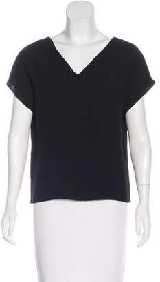 Steven Alan Textured Short Sleeve Top