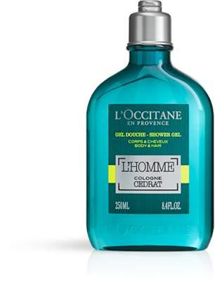 L'Occitane L'Homme Cologne Cédrat Shower Gel Body & Hair 250ml