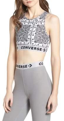 Converse x Miley Cyrus Bandana Print Sports Bra