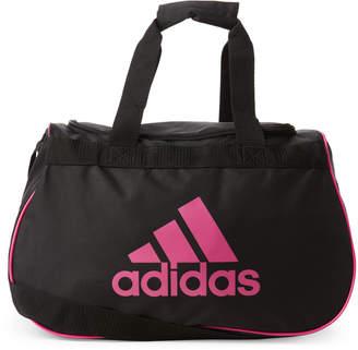 adidas Black & Pink Diablo Small Duffel