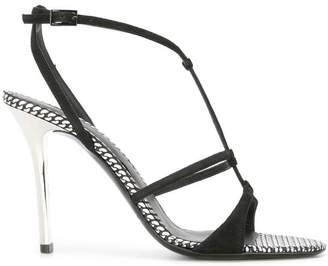 Emporio Armani stiletto sandals