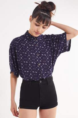 Urban Outfitters Amazonia High/Low Button-Down Top