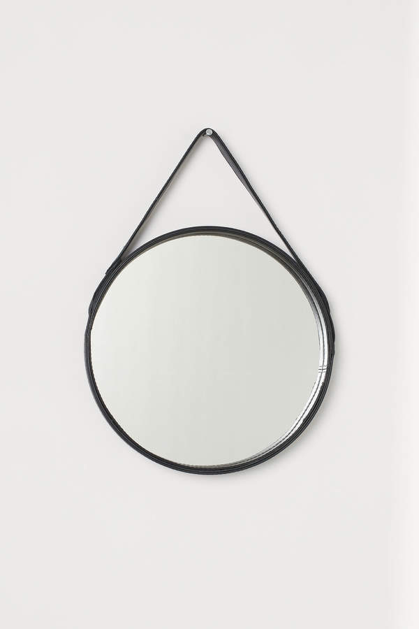 H&M Mirror with Leather Strap