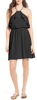 Women's Lush Ruffle Blouson Dress $49 thestylecure.com