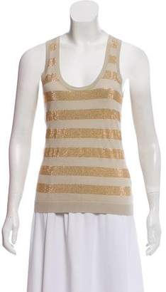 Burberry Embellished Knit Top
