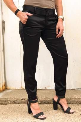 David Lerner New York Belted Snap Trouser