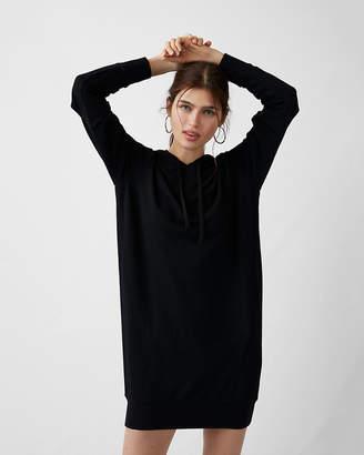 Express One Eleven Slash Sleeve Sweatshirt Dress