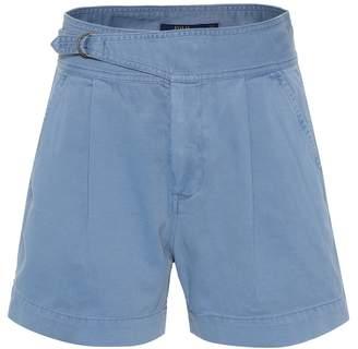 Polo Ralph Lauren High-rise cotton twill shorts