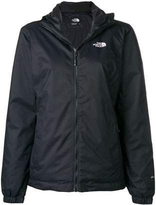 The North Face logo zipped hoodie