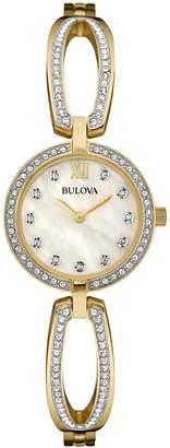 Bulova Women's Quartz Stainless Steel Dress Watch (Model: 98L225)