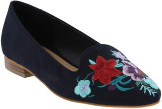 Mia Shoes Embroidered Loafers - Zeke