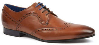 Ted Baker Olliver Leather Wingtip Brogue Shoes