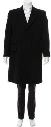Paul Smith Wool-Angora Long Coat