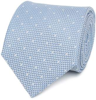 Reiss Liam Silk Polka Dot Tie