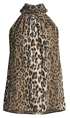 Joie Women's Erola Leopard Halter Top