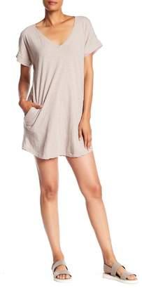 Allen Allen V-Neck Pocket Dress