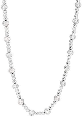 Sara Weinstock Women's White Diamond & White Gold Beaded Choker