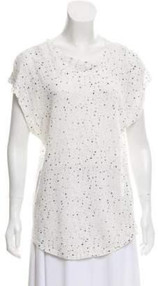 IRO Linen Polka Dot T-Shirt