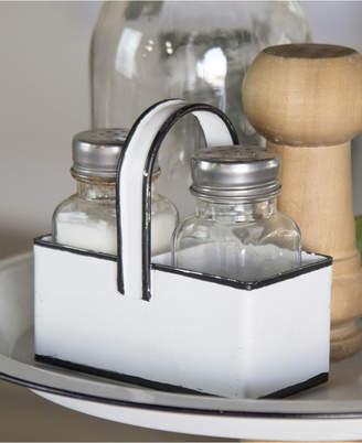 Vip Home & Garden Vip Home International Metal Salt and Pepper Shaker with Trim