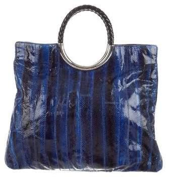 Michael Kors Watersnake Skorpios Bag - BLUE - STYLE