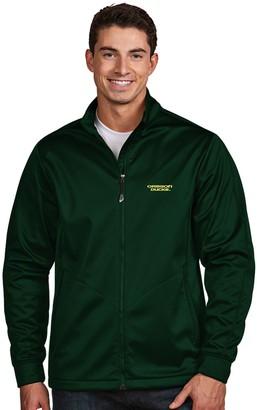 Antigua Men's Oregon Ducks Waterproof Golf Jacket
