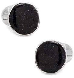 Cufflinks Inc. Cufflinks, Inc. Round Galaxy Sterling Silver Cufflinks