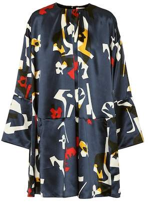 Roksanda Natani printed silk minidress