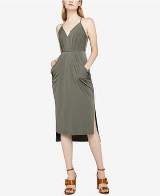 BCBGeneration Surplice Midi Dress