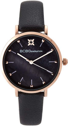 BCBGeneration GN50612002 Rose Gold-Tone & Black Watch